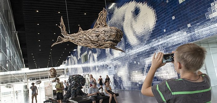 """Oceanário de Lisboa apresenta a exposição """"Keep The Oceans Clean"""""""