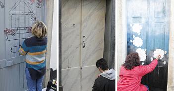 Projeto Arte à Porta revitaliza zona histórica de Oleiros